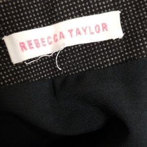 Rebecca Taylor Skirts - Rebecca Taylor Charcoal Pencil Skirt